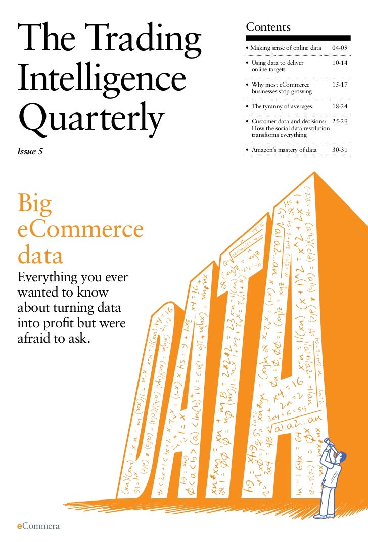 The Trading  The Trading Intelligence Quarterly. Big eCommerce Data   Contents                                            ...