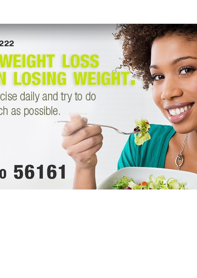 Weight loss maintenance plan