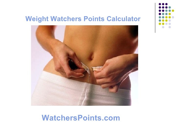 Weight Watchers Points Calculator WatchersPoints.com