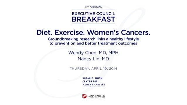 Weight, Physical Activity, and Cancer Risk and Outcomes Nancy Lin, MD Breast Oncology Program Susan F. Smith Center for Wo...