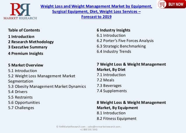 6 9% CAGR for Global Weight Loss and Weight Management Market