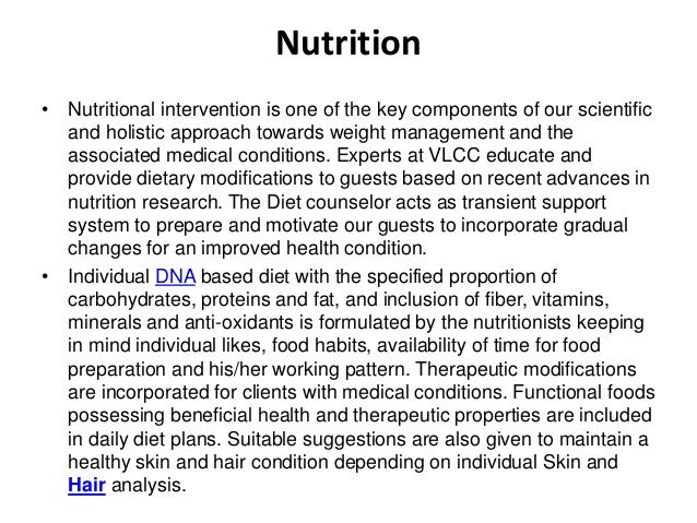 Nutrition • Nutritional intervention is one of the key components of our scientific and holistic approach towards weight m...