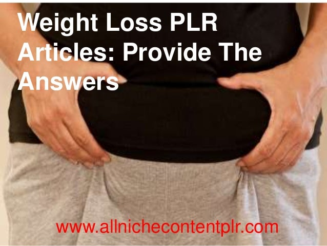download free plr articles weight loss