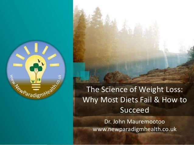 Dr. John Mauremootoo www.newparadigmhealth.co.uk The Science of Weight Loss: Why Most Diets Fail & How to Succeed