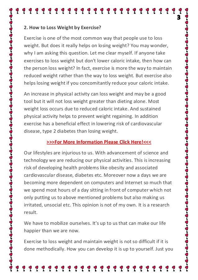Weight loss craigslist