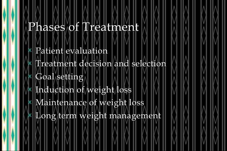 Phases of Treatment <ul><li>Patient evaluation </li></ul><ul><li>Treatment decision and selection </li></ul><ul><li>Goal s...