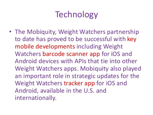 Weight Watchers International Case Study By Jack Ng