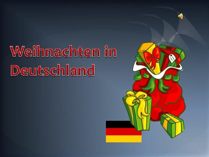 Weihnachten in Deutschland<br />
