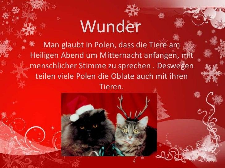 Bilder Weihnachten Tiere.Weihnachten In Polen
