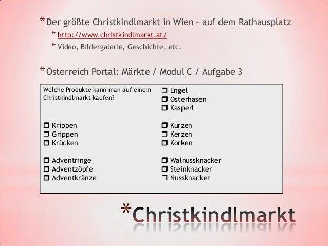 * Aufgabe:  * Brief ans Christkindl schreiben  * Weihnahtspost verschicken - http://www.christkindl.at/                   ...