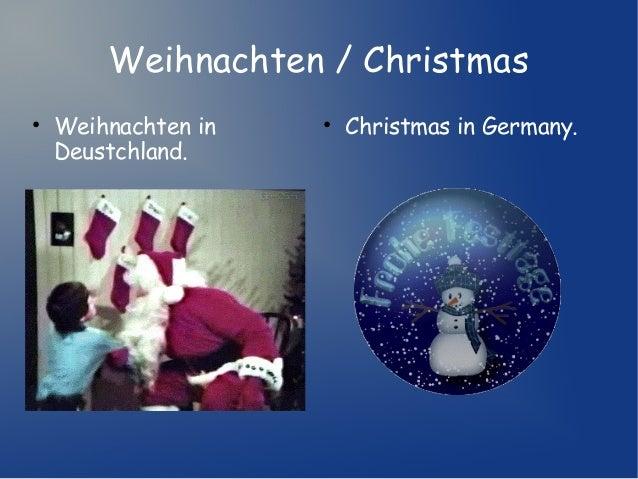 Weihnachten / Christmas • Weihnachten in Deustchland.  • Christmas in Germany.
