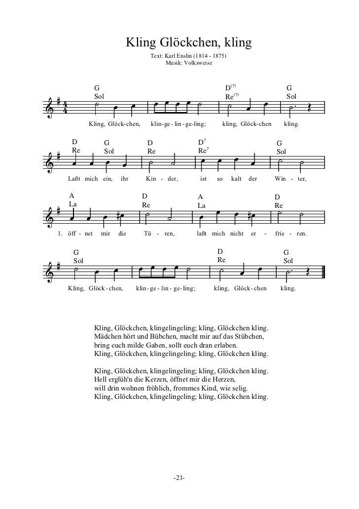 Kling Glöckchen Songtext