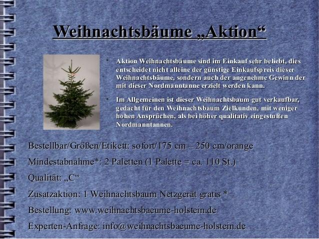 Tannenbaum Netzgerät.Weihnachtsbäume Holstein Weihnachtsbaeume Praesentation 2016