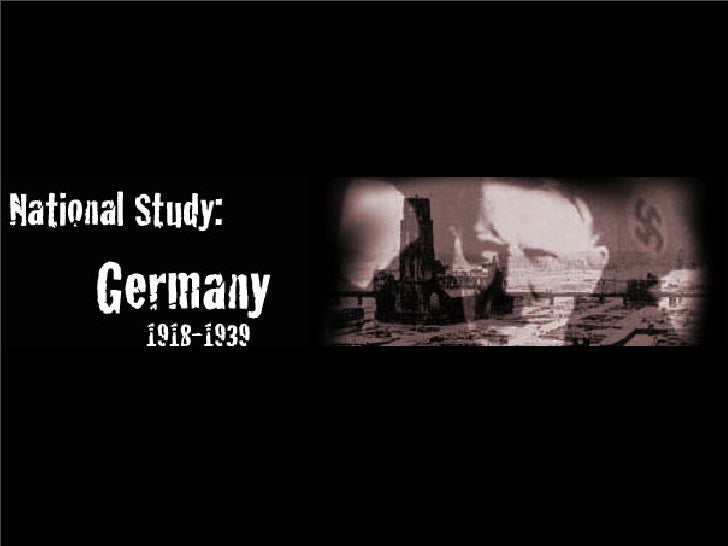The Weimar Republic • The impact of WWI devastated Germany • The punitive nature of the Treaty of Versailles   made it wor...