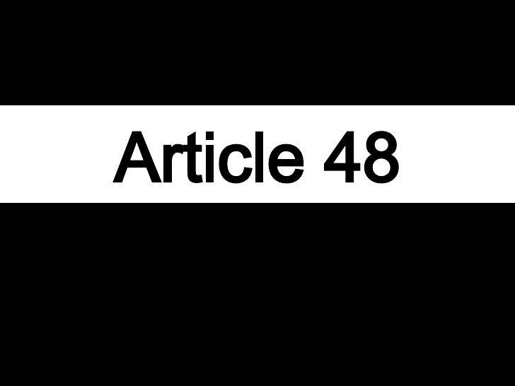 article Forty-eight 3rd r publique de weimar