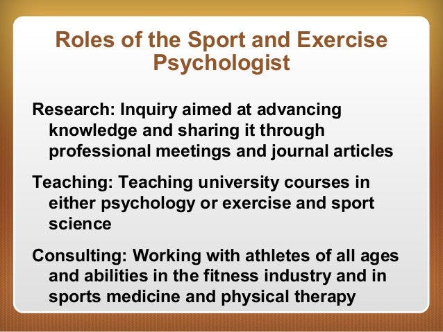 introduction to sports psychology - introduction sports psychology is the scientific study of human behaviour and mental processes while participating in sport (robert weinberg, 2010) academic sports psychology looks at the factors that affect participation and performance in sport.