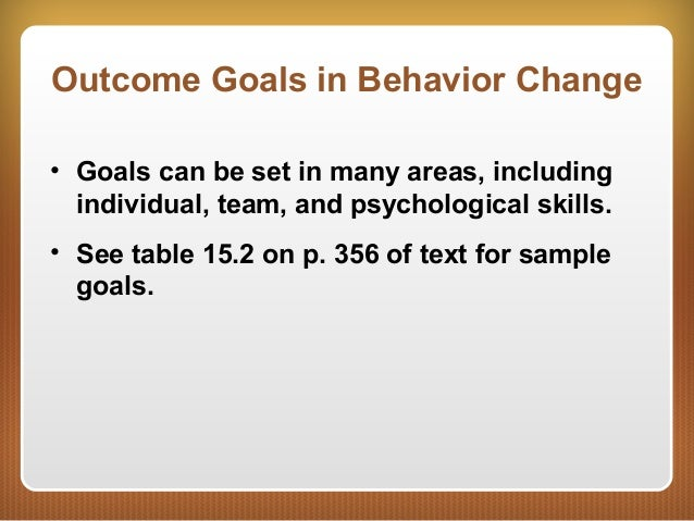 36. Outcome Goals ...  sc 1 st  SlideShare & FW279 Goal Setting