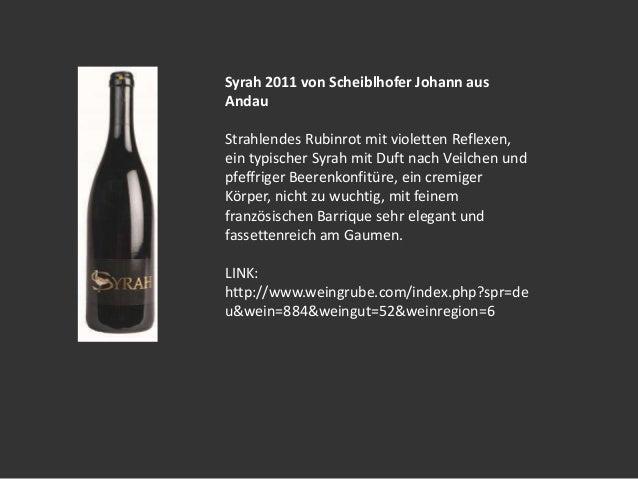 Weinshop Weingrube.com präsentiert Weine aus dem Weingut Scheiblhofer! Slide 2