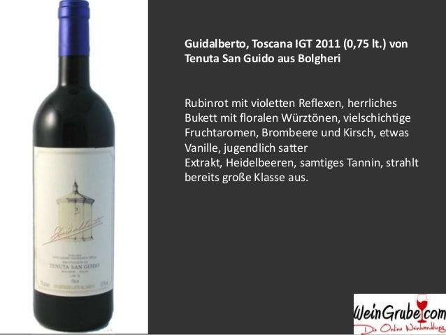 Weinguide: Weinregion Toskana Slide 3