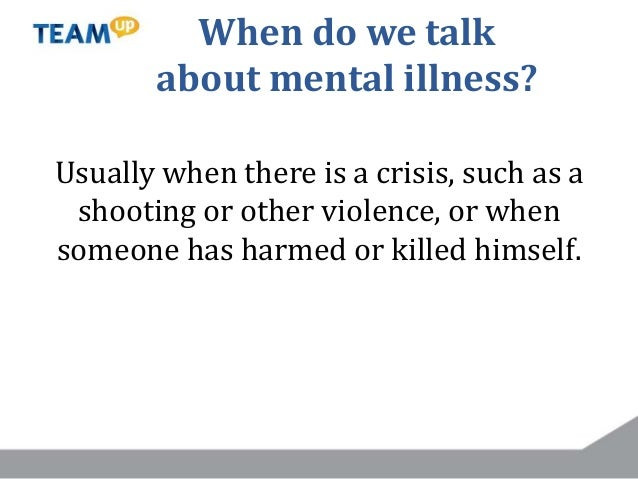Transforming Media Messaging About Mental Illness Through News, Entertainment and Social Media Slide 3