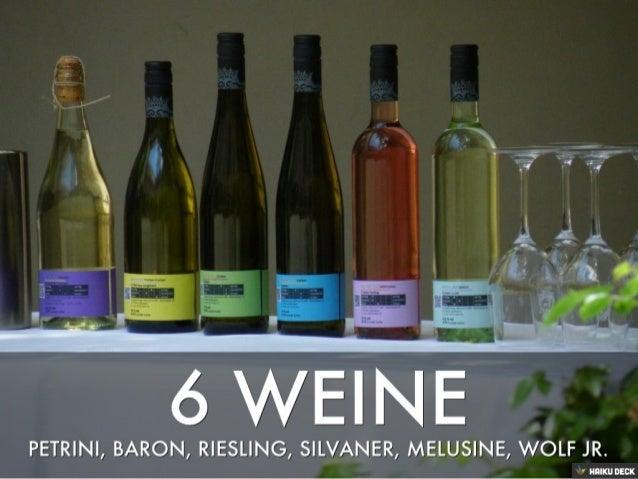 Wein von 3