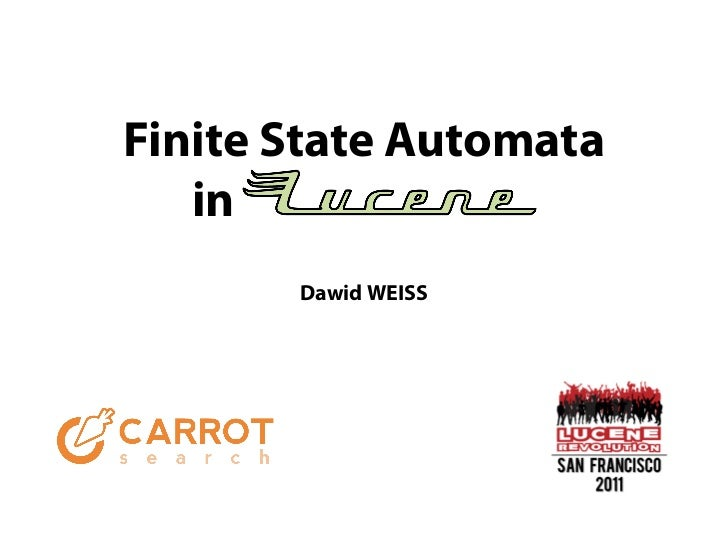 Finite State Automata   in       Dawid WEISS