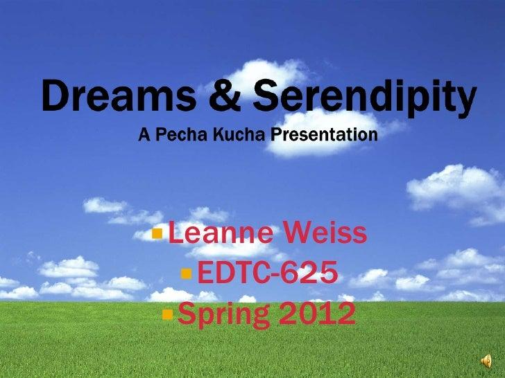  Leanne Weiss    EDTC-625  Spring 2012