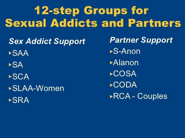 12 steps for a sex addict