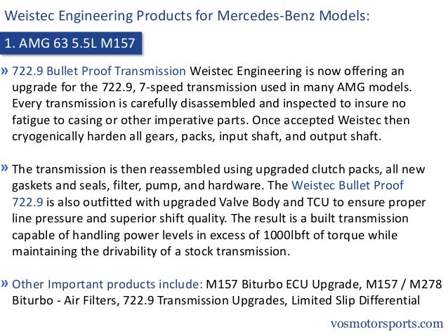 Weistec Engineering Products Slide 3