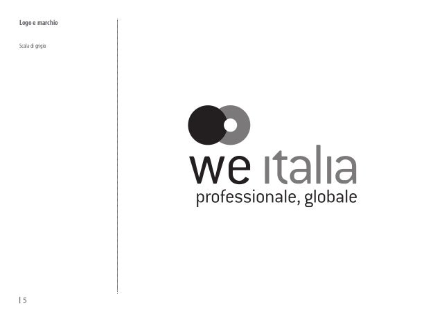 We italia \ brand manual