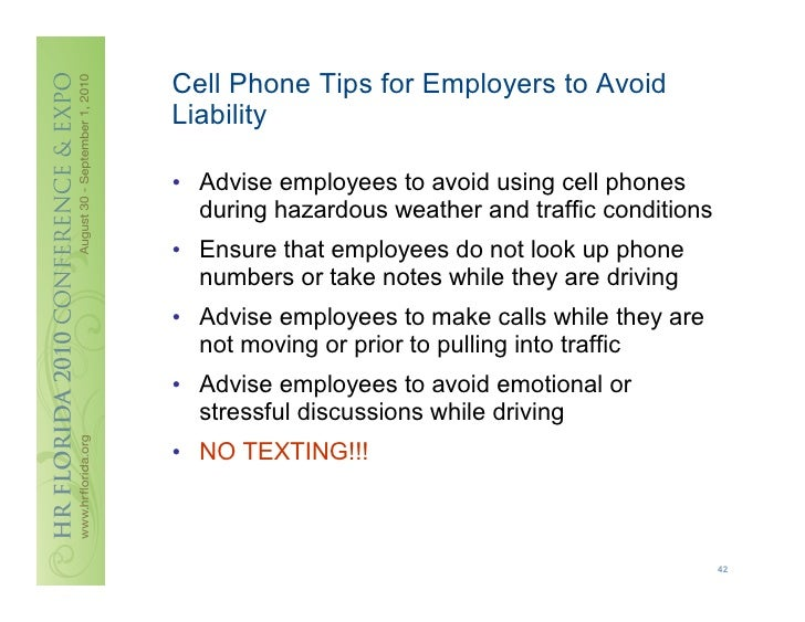 Weitzman employee handbooks every word counts for Company issued cell phone policy template