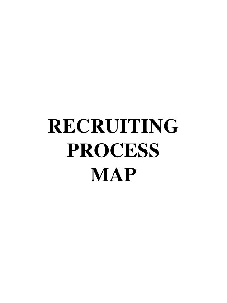 RECRUITING PROCESS MAP