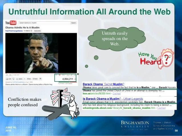 Weiyi meng web data truthfulness analysis