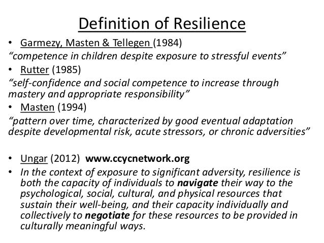 The Importance of Resilience - Verywell Mind