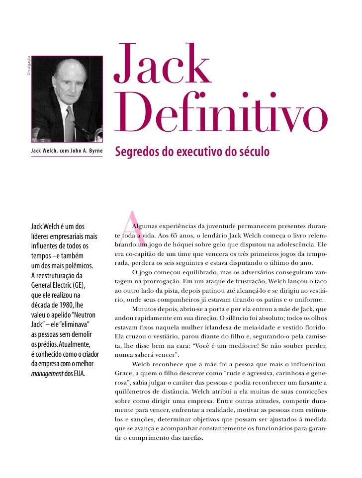 Case Jack Welch