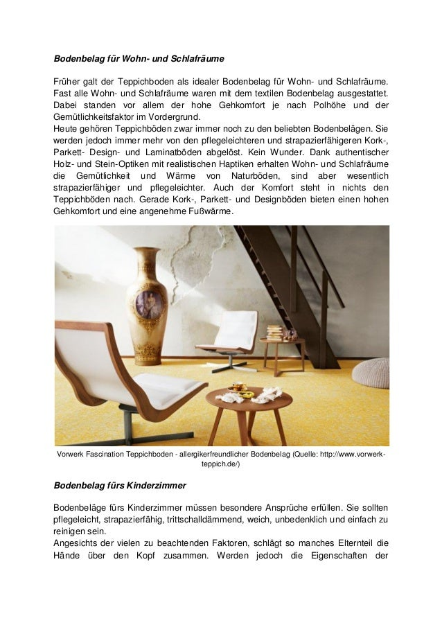 welcher bodenbelag ist f r mich geeignet teil 1 wo soll der bode. Black Bedroom Furniture Sets. Home Design Ideas