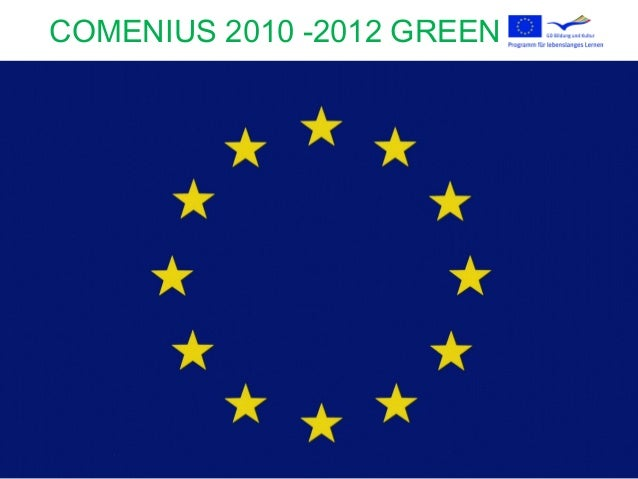 COMENIUS 2010 -2012 GREEN WAY