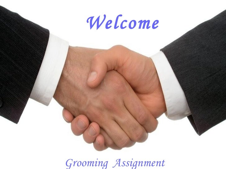 Welcome Grooming  Assignment