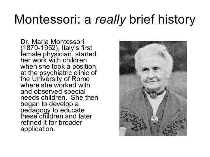 Montessori Method (Montessori)