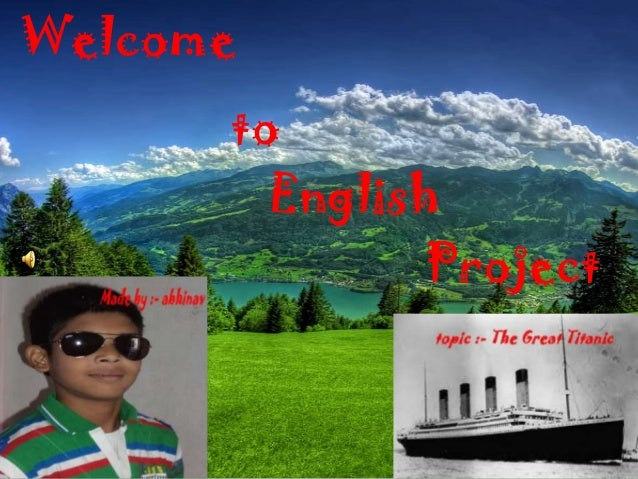 Welcome to English Project