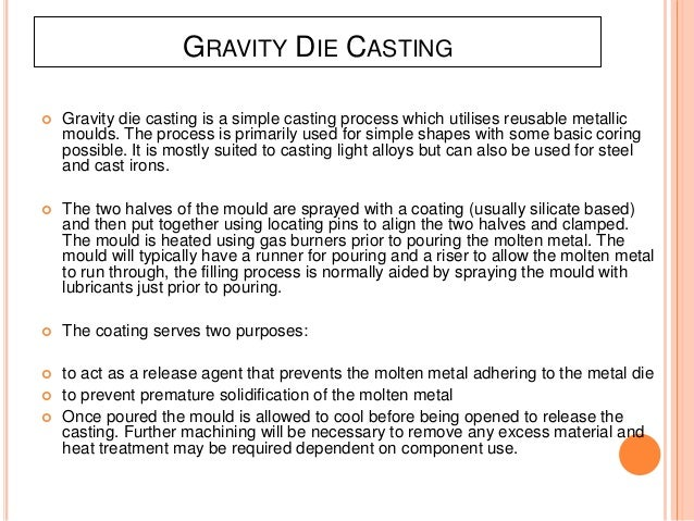 Die Casting and its types By Raghav Gupta