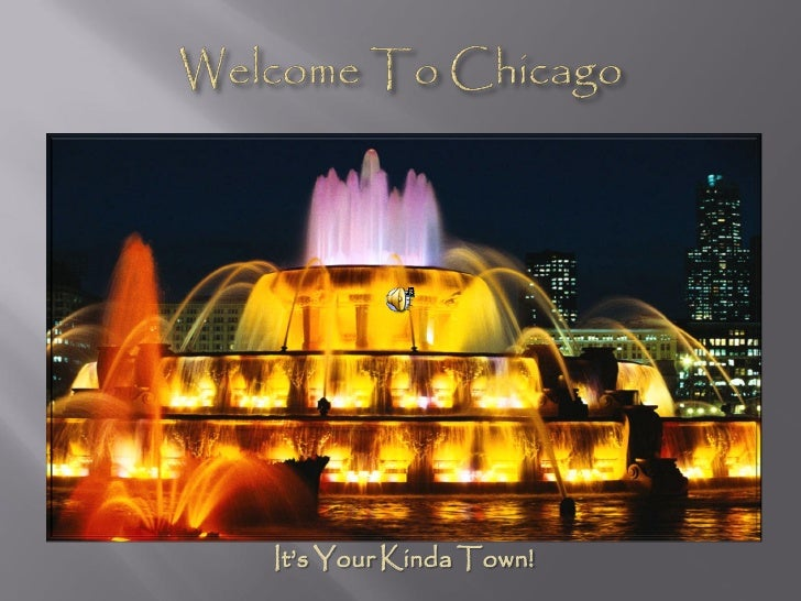It's Your Kinda Town!