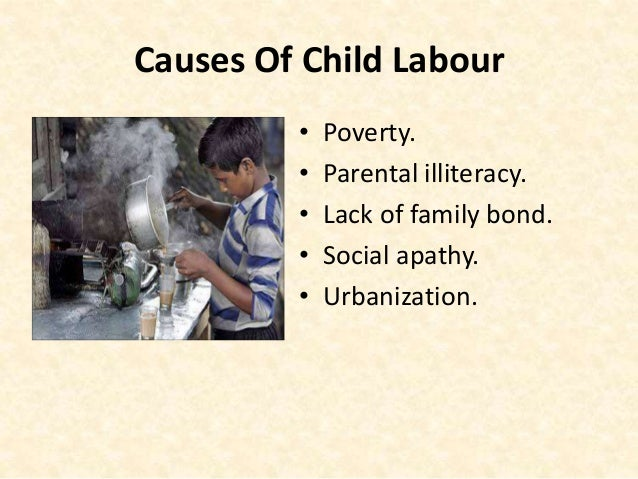 illiteracy leads to child labour
