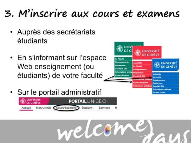 • Auprès des secrétariats étudiants • En s'informant sur l'espace Web enseignement (ou étudiants) de votre faculté • Sur l...