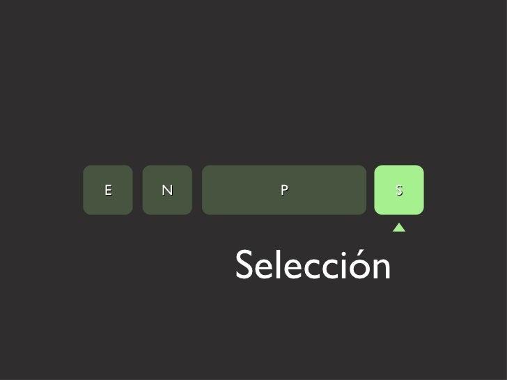 Selección E N P S