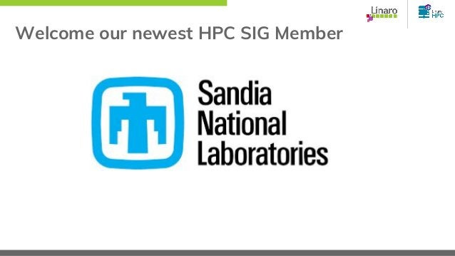 Welcome our newest HPC SIG Member