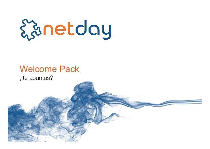 Welcome Pack¿te apuntas?