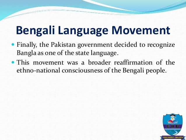 the six point movement Bengali nationalism and anti-ayub movement: a study of the role of students article published in pakistan vision  awami league president sheikh mujibur rahman announced a six-point programme in 1966, it was virtually the 'blueprint for bengali right to live'4 and demanded that east and west pakistan form a federated state.