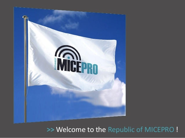 >> Welcome to the Republic of MICEPRO !