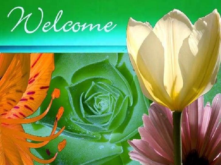 welcome spring worship service slide